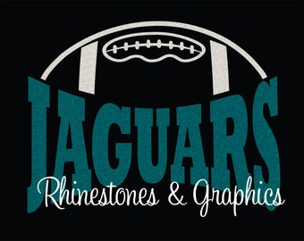 Jaguars Football Design Pattern Graphic Design Instant Download EPS SVG DXF  Cutting Files Cameo