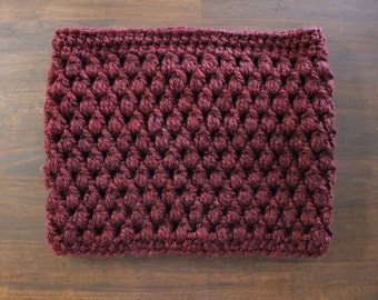Puff Stitch Oversized Cowl