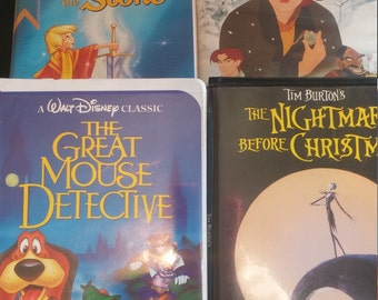 Children's vhs home movies 4 piece bundle
