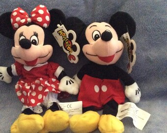 Mickey And Minnie Mouse Mouseketoys w/ Tags