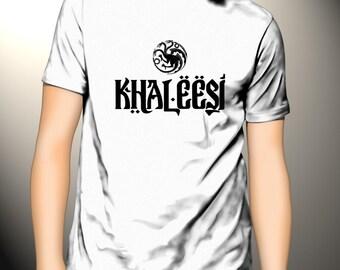 Khaleesi T-Shirt Game of Thrones Daenerys Stormborn Tee
