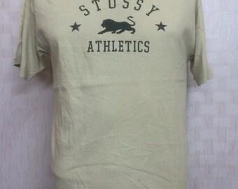 Vintage STUSSY Tshirt Medium Made In Usa