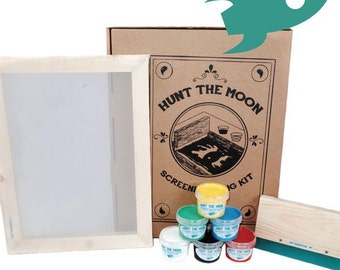 Screen Printing Kit - All you need to get started! Standard or Deluxe!