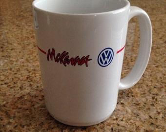 Vintage Huntington Beach Volkswagen Mug