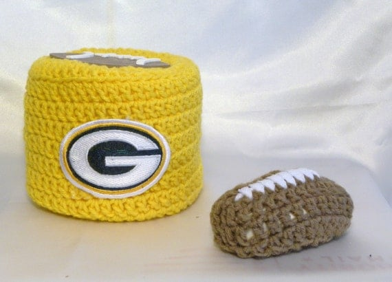 Green Bay Packers Packers Toilet Paper Cover Toilet Tissue