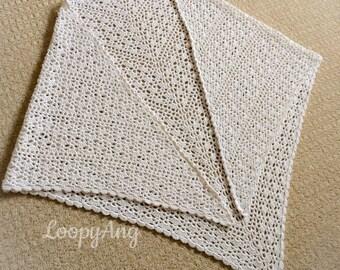 Lacy Shell Shawl - Ivory Vintage Inspired Shawl - Crochet Boho Style Wrap - Bridal Wedding Wear - Prom Wrap - Cover Up Wrap