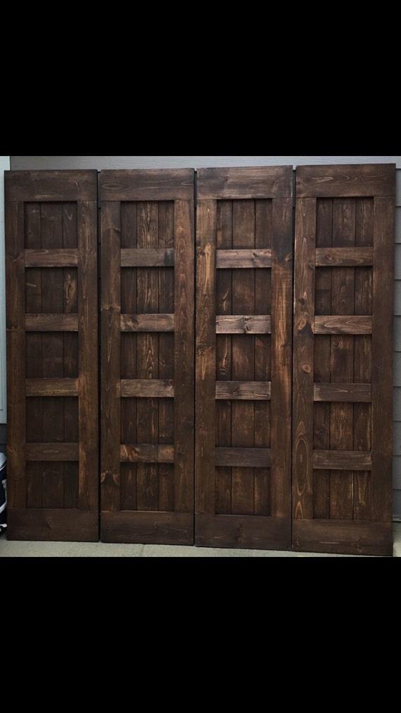 Five panel barn doors sliding custom split