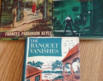 1950s Set of Novels with Dust Jacketss ~First Editions