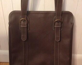 Vintage Brown Estée Lauder Handbag