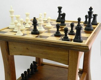 Chess Table, Side Table, Small GameTable