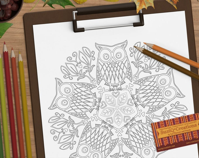DIY adult coloring books | Etsy