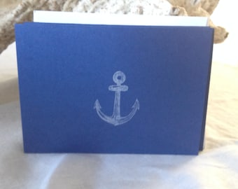 Anchor Notecards, Set of Six