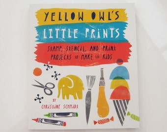 Yellow Owl's Little Prints Book
