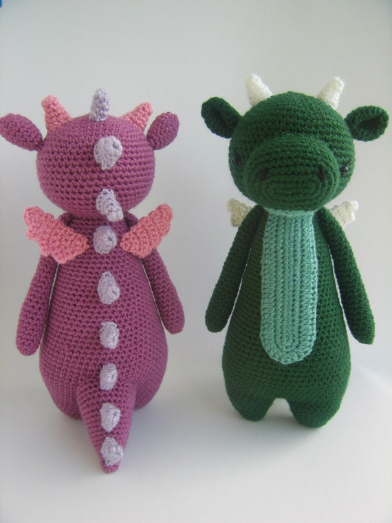 Amigurumi Dragonfly : Crochet amigurumi pattern dragon from littlebearcrochets