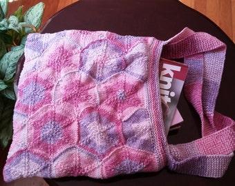 Knit Summer Shoulder Bag