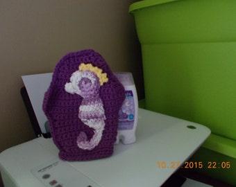 Little Purple Sea Horse