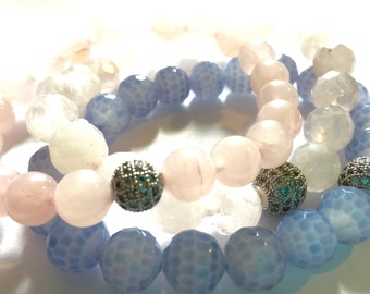 Pink & Blue Mother's Day Stack