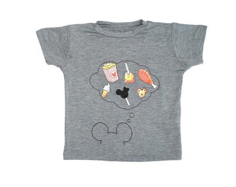 Mickey Mouse Shirt Toddler Disney Baby Minnie Shirt Disneyland
