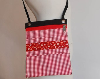 Small shoulder bag spring