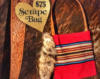 Red Serape Bag