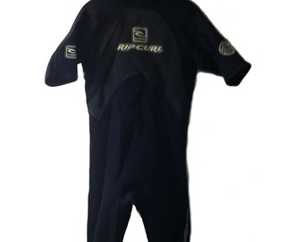 Rip Curl Classic Shorty Wetsuit Men's Small Back Zip Springsuit