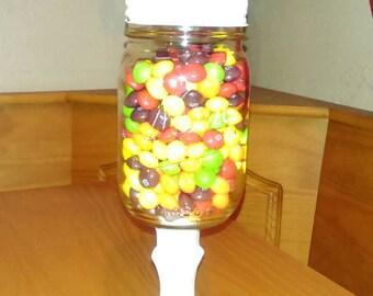 Mason Jar candy dish