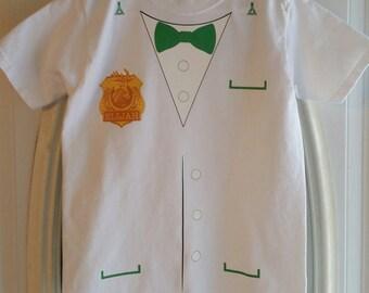 Odd Squad Oscar T-shirt with Badge