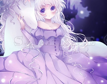 The Last Unicorn - Lady Amalthea 1x Large Print