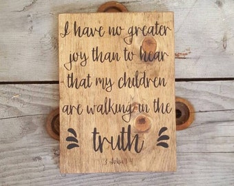 Scripture verse wall art, Wooden sign, Wood signs sayings, Bible verse on wood