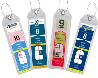 Cruise Luggage Tag Holder - Royal Caribbean and Celebrity Cruise