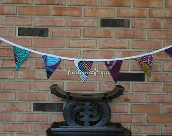 Bunting Banner- Fabric Banner- Fabric Garland- Fabric Bunting- Fabric Flags- Fabric Flag Banner- Fabric Flag Garland- Fabric Flag Bunting