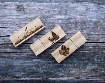 Only ENGRAVING for USB. Engrave your logo to your new usb flash memory.