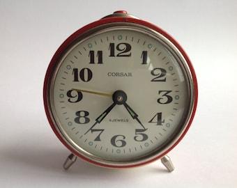 Vintage 1970's Russian Corsar alarm clock SOLD!