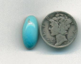 348 - Bruno's Turquoise Sleeping Beauty Natural Oval 3.87 Carats