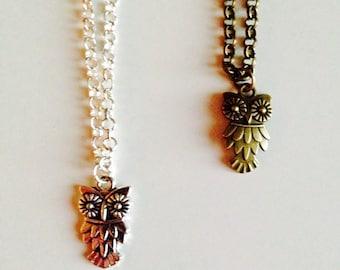 Owl | Autumn | Woodland | Cute | Pretty | Necklace