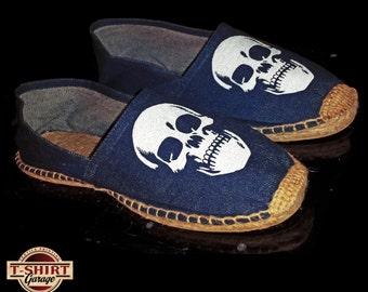 SKULL Shoes Espadrillas Denim