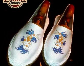 Koi Carp shoes ESPADRILLAS!