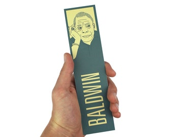 James Baldwin Bookmark! Giovanni's Room, Notes of a Native Son,