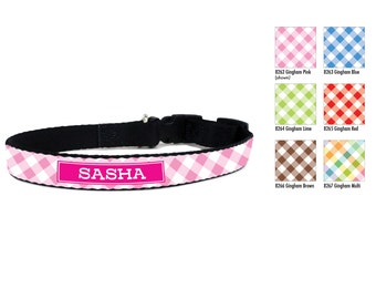 Personalized Dog Collar, Monogrammed Dog Collar, Pet Collar with Name & Number, Personalized Dog Leash, Name Dog Collar, Design your Own