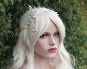 GATSBY HEADPIECE, Vintage style Great Gatsby Daisy Buchanan Headband, Roaring 20's Bracelet, Art Deco, 1920's Flapper Headpiece, Gatsby