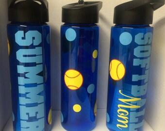 Softball Team Bottles