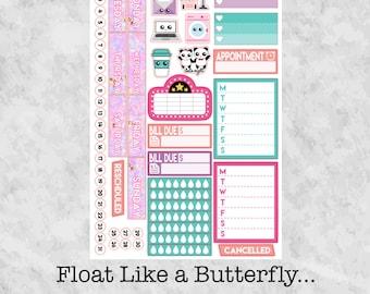 Float Like a Butterfly... Functional Sampler for the Erin Condren Life Planner