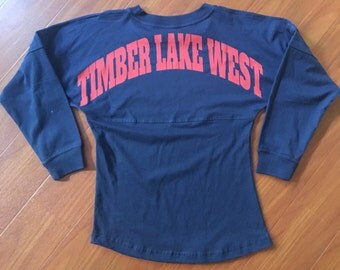 SALE! Timber Lake West Pom Pom Jersey size Youth Medium
