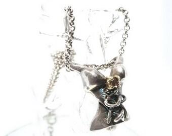 corset necklace diamond