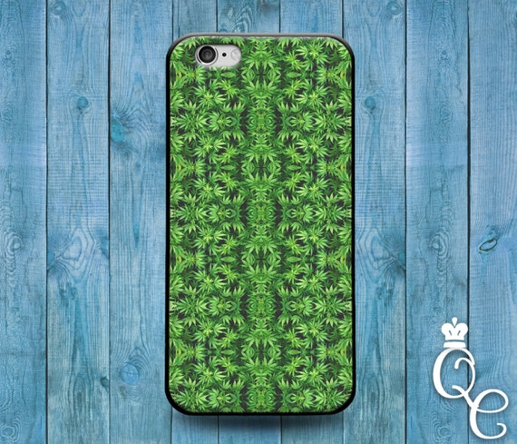 iPhone 4 4s 5 5s 5c SE 6 6s 7 plus iPod Touch 4th 5th 6th Generation Cute 420 Green Leaf Custom Phone Cover Cool Funny Hip Hipster Case
