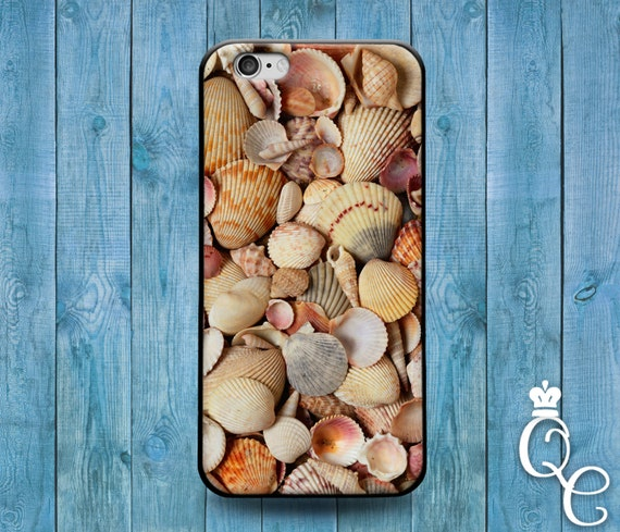 iPhone 4 4s 5 5s 5c SE 6 6s 7 plus iPod Touch 4th 5th 6th Generation Cute Beach Sand Sea Shell Pretty Phone Cover Ocean Girly Girl Case