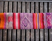 Peruvian Hand Woven Wool Textile - wall hanging rug