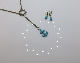 Anchor Jewelry Set