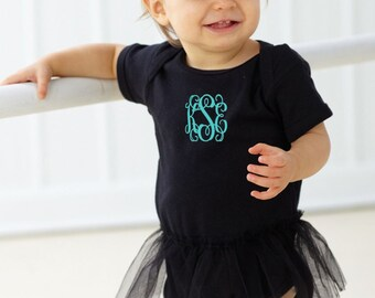 Personalized Baby Onesie with Tutu