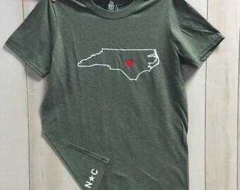 North Carolina Love Shirt North Carolina Love Shirt NC Love TShirt North Carolina Love Shirt